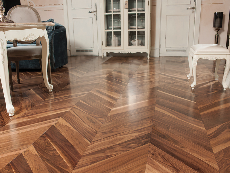 Walnut Chevron